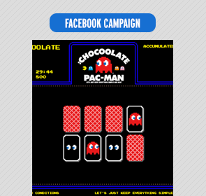 :Chocoolate X Pacman Facebook app