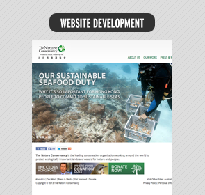 The Nature Conservancy HK official website