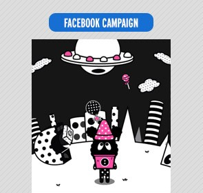 :chocoolate x Mini Cream facebook game