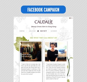 Caudalie – Beauty grows here facebook app