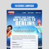 myeg Win tickets to Berlin Facebook app